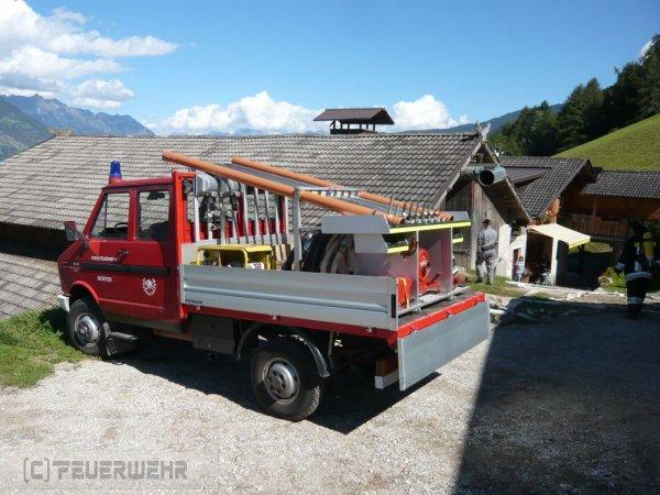 Brandeinsatz vom 08.09.2018  |  (C) Feuerwehr Tschars (2018)